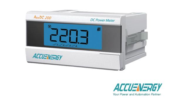 AcuDC 210/220 Series DC Power Meter